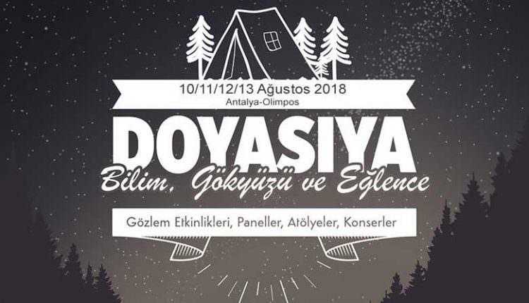 Olimpos Gökyüzü ve Bilim Festivali 2018 Kayıtları Başladı!