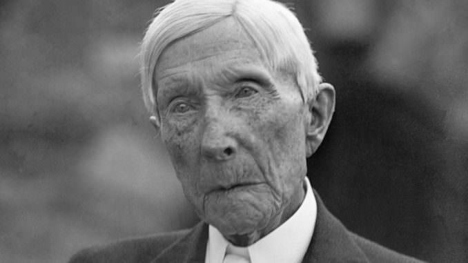 Bitkilere Savaş Açarak Tıp Dünyasını Tekelleştiren Adam: Rockefeller